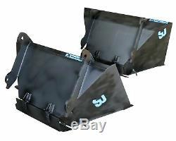 1 Cubic Telehandler Bag Filling Bucket to fit JCB Q-FIT, Merlo, Manitou, Matbro