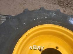 1 Tyre & wheels for jcb digger telehandler size 480/70r28