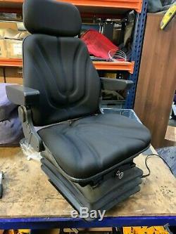 12v Air Suspension Seat Telehandler Loadall Jcb Merlo Manitou Sanderson Kramer