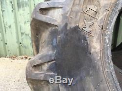 15.5/80-24 Bkt Tyres Tele Handler Loader Jcb Plant Tyre Manitou Merl