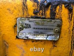 2005 JCB 535-125 Loadall Telehandler Front Axle RATIO 18.161