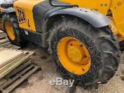 2006 Jcb Loadall Telehandler 531-70 Forklift New tires & serviced LINCOLNSHIRE