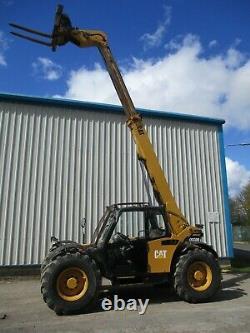 2007 CAT TH330B telehandler fork lift teleporter JCB manitou PUH caterpillar