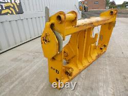 2007 JCB Q-Fit Carriage Yellow, Telehandler