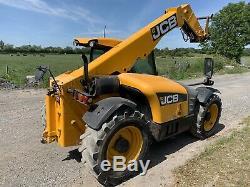 2010 Jcb Loadall Telehandler 527-58 Agri Plus Teleporter Forklift Not Tractor