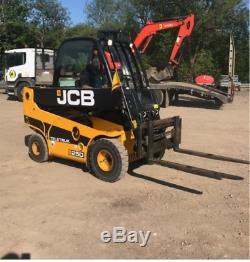 2011 JCB TLT25D 2WD TELETRUK Telehandler Forklift Truck DW050