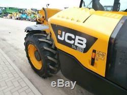 2015 JCB 531-70 Telehandler 3.1 Ton 7 Meter Reach A/C 3250 Hours Plant Spec