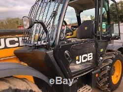 2015 JCB 533-105 Telehandler, 1,658 Hours, FSH, LOLER Cert, Hydraulic Forks