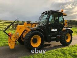 2016 JCB 535-95 Agri Super Telehandler c/w pallet forks For Sale, £49,995.00+VAT