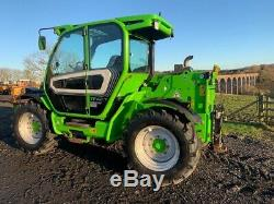 2017 MERLO 42.7 TURBO FARMER TELEHANDLER 2950 HOURS RARE 156 HP JCB Manitou CAT