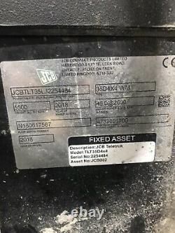 2018 JCB TELETRUK TLT35D 4x4 4WD 3.5T Waste Master Teletruck Telehandler