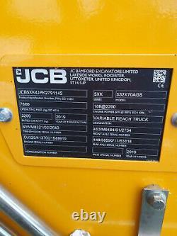 2019 JCB 532-70 Agri Super Telehandler (ST9504)