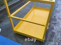 2m x 1m Forklift Safety Manlift Basket (JCB Manitou Merlo Matbro Euro8 Platform)