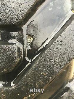 2x michelin 440/80-24 telehandler tyres 16.9/80-24 jcb loadall