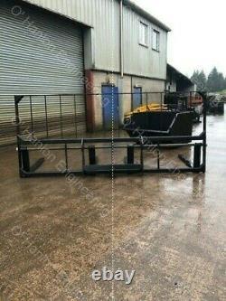 3.6mt Palletfork Carriage with 4 x 2.5 tonne Floating Forks, Telehandler, JCB