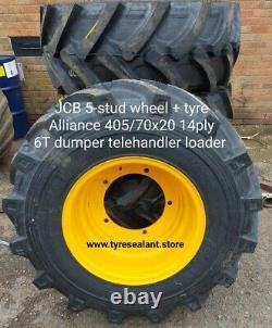 405 70 X 20 Alliance JCB 5-stud for 6T dumper loader telehandler X4