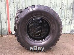 405/70r20 Dunlop Tyres Farm Agriculture Loader Telehandler Jcb