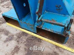 5 Ton Conquip Forklift Crane Extending Lifting Jib Hook Telehandler JCB £795+vat