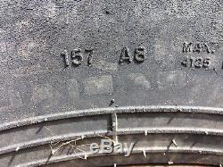 500/70 LR24 Tyres On 10 Stud JCB Rims Loader/Telehandler/Loading Shovel