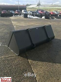 7.5ft 1.2m3 Telehandler bucket to fit JCB Q-FIT, Merlo, Manitou, Matbro