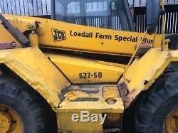 £8750+vat Jcb 527-58 Farm Special Plus Loadall Telehandler Teleporter