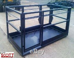 8x4 Man / Personnel cage to fit JCB, Manitou, Merlo, Matbro as well as many othe