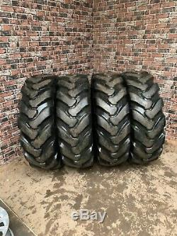 ALLIANCE 15.5 25 12 Ply L-2 Telehandler Tyres X4 Min 60% FULL SET DELIVERY