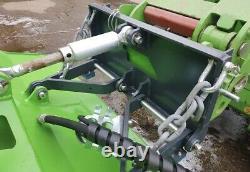 Avant Hydraulic Flail Mower Brush Cutter Weidemann Schäffer Telehandler JCB