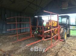 Browns 48 conventional bale squeeze for JCB Telehandler