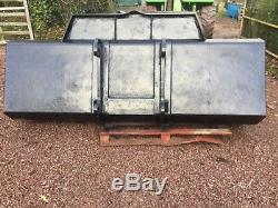 Cat telehandler bucket 8ft long by 3ft deep, not tractor bucket jcb
