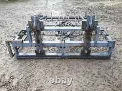Cook flat 8/10/16 bigbale straw grab, Telehandler, loading shovel, strimech, heath