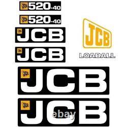 Decal Sticker Set JCB 520-40 Telehandler Decal Set