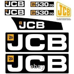 Decal Sticker Set JCB 530-70 Telehandler Decal Set