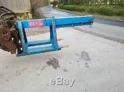 Forklift Crane Lifting Loading Jib D Shackle Telehandler Manitou JCB £300+vat