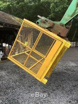 Forklift man cage For JCB Telehandler