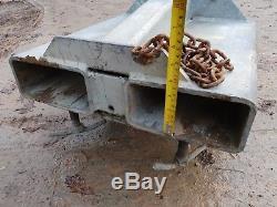 Galvanized Forklift Crane Lifting Jib Hook Telehandler Manitou Cat JCB £400+vat
