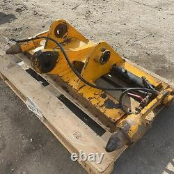 Genuine Jcb Pin And Cone Hydraulic Quick Hitch Telehandler Headstock Carriage