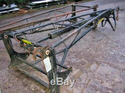Genuine Jcb Trussmaster Fly Jib With Telescopic / Hyd Extension Year 2016