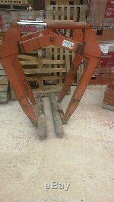 Hydraulic Brick Block Grab, Telehandler, JCB, Material Handler
