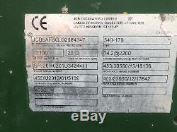 JCB 17m telehandler, 540-170, year 2012