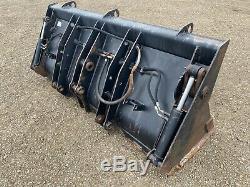 JCB 3CX Bucket 4in1 Bucket/ Grab Bucket For Digger/ Telehandler/ Forklift +VAT