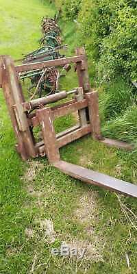 JCB 410 M Loader shovel fork lift not telehandler very strong low hours