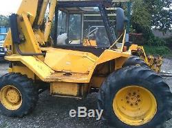 JCB 520 -4 loadall, telehandler, 4x4 like tractor. 520