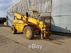 JCB 520 Farm Tractor Telehandler Loader Loadall Telescopic