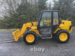 JCB 520 Telehandler Forklift For Farm Forks & Bucket GWO PLUS VAT