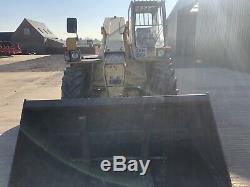 JCB 525-4 Loadall Telescopic Telehandler Forklift With Bucket