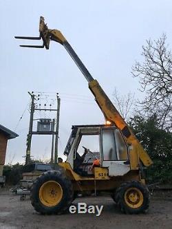 JCB 525 Telehandler Forklift