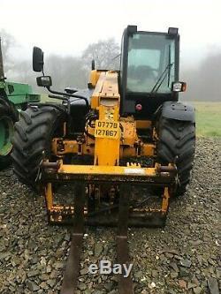 JCB 526S farm special 2002 52 loadhall TELEHANDLER TELEPORTER FORKLIFT JCB