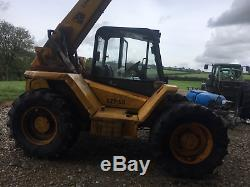 JCB 527 58 loadhall farm special plus air con TELEHANDLER TELEPORTER FORKLIFT
