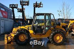 JCB 528s year 2002 528-70 2.8t 7m Telehandler £9750+VAT